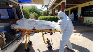 อุบลฯ แตกตื่น! พบศพหนุ่มใหญ่จากพื้นที่ระบาดโควิด-19 เสียชีวิตในห้องเช่า