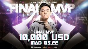 MAD Team จากไต้หวันคว้าแชมป์โลก RoV พร้อมทุบสถิติยอดชมออนไลน์กว่า 109 ล้านครั้ง