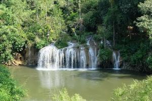 อุทยานฯ ไทรโยคสั่งปิดน้ำตกงดรับนักท่องเที่ยวป้องโควิด-19 แต่เดินเที่ยวชมน้ำตกได้
