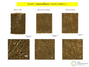 ซินโครตรอนออกแบบและวิจัย พัฒนาหน้ากากผ้าไหมไทย ทดแทนหน้ากากทางการแพทย์
