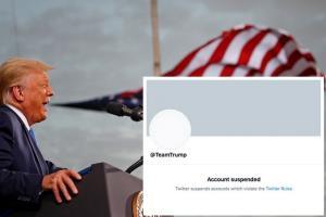 'ทรัมป์' ลั่นจะสร้างแพลตฟอร์มเอง หลังทวิตเตอร์ปิดบัญชี ล่าสุด @TeamTrump โดนแบนด้วย