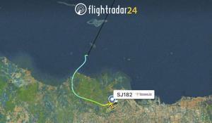ระทึก! เครื่องบินอิเหนาขาดการติดต่อหลังเพิ่งขึ้นบินจากจาการ์ตา ชาวบ้านพบซากปริศนา