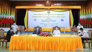 จีน-พม่าเซ็น MOU ศึกษาความเป็นไปได้สร้างทางรถไฟเชื่อมมัณฑะเลย์-ชายฝั่งรัฐยะไข่