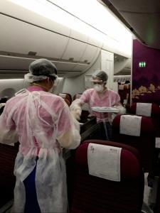"""""""การบินไทย"""" จัด 3 เที่ยวบินรับ 340 คนไทยจากฮ่องกง-ญี่ปุ่น-ฝรั่งเศส กลับสู่ประเทศ"""