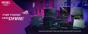 Republic of Gamers ประกาศเปิดตัวคลังอาวุธเกมมิ่งในงาน CES 2021