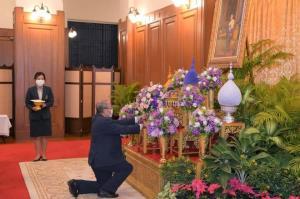 องคมนตรี-นายกรัฐมนตรี ผู้แทนหน่วยงาน ลงนามถวายพระพร กรมสมเด็จพระเทพฯ ให้หายจากอาการพระประชวร