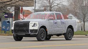 SpyShot ว่าที่ Ford Ranger ใหม่ จะมาปีหน้าหรือไม่???