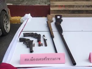 ตร.นครฯ เปิดแผนกวาดล้างปืนและยาเสพติด รวบผู้ต้องหา 23 ราย พร้อมของกลางจำนวนมาก