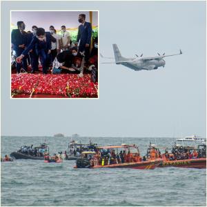 "In Clip: ทีมนักประดาน้ำอินโดฯกลับมาค้นหา ""เหยื่อศรีวิจายา แอร์-กล่องดำ"""