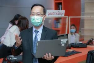 มข.ให้นักศึกษายืมคอมพ์เรียนออนไลน์กว่า 2,300 เครื่อง มุ่งป้องกันโควิด-19 ระบาด