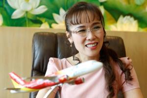 เหวียน ถิ เฟือง ถาว ซีอีโอสายการบินเวียดเจ็ท. -- Reuters.