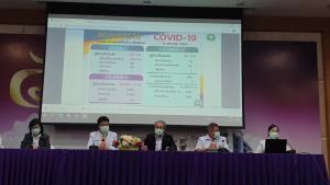 สสจ.เชียงใหม่นำ ผอ.4 โรงพยาบาลใหญ่แถลงผลรักษาผู้ป่วยโควิด-19 ระลอกใหม่ เน้นย้ำความเชื่อมั่น