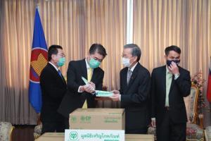 CP-CPF มอบหน้ากากอนามัยซีพีช่วยแรงงานต่างชาติผ่าน 3 สถานทูต