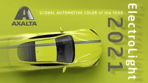 แอ็กซอลตา ประกาศเทรนด์สีรถยนต์ปี 2021 ได้แก่ สีอิเล็กโทรไลท์