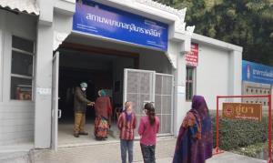 สถานพยาบาลกุสินาราคลินิก (ภาพ : เพจวัดไทยกุสินาราเฉลิมราชย์)