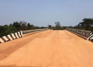 ทช.เปิดใช้สะพานข้ามลำน้ำยามเชื่อมสองตำบล จ.สกลนคร