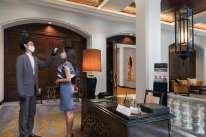 """ไม่ธรรมดา! """"อนันตรา สยาม กรุงเทพ"""" โรงแรมแห่งแรกในไทย ได้การรับรองมาตรฐานสุขอนามัยระดับโลก"""
