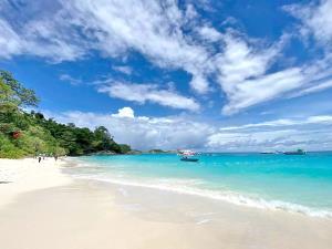 หาดหน้าเกาะสี่