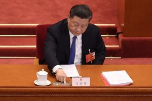 ประธานาธิบดีสี จิ้นผิง ของจีน