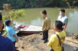 ผู้ว่าฯ กาญจน์ประกาศให้คลองท่าสาร-บางปลา เขตพื้นที่อันตรายจากจระเข้