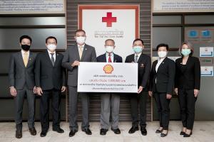 เชลล์มอบเงิน 1 ล้านบาท แก่สภากาชาดไทย บรรเทาทุกข์น้ำท่วมภาคใต้