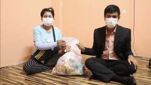 ส.ประชาคมคนตาบอดไทย รุดช่วยสมาชิกย่านนนทบุรี เจอพิษโควิดระบาด ซ้ำเป็นมะเร็งหมดเงินรักษาตัว-ค่าเช่าบ้านไม่มี