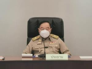 """""""บิ๊กป้อม"""" นั่งหัวโต๊ะประชุม คกก.สิ่งแวดล้อม ย้ำแก้ปัญหา PM 2.5 รณรงค์ ปชช.เฝ้าระวัง-แจ้งเตือน"""