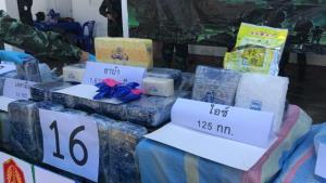 ทหารชี้เป้าอาข่าในพม่าเอี่ยวยานรก 16 กระสอบ พบขนพักฝั่งท่าขี้เหล็ก-แบกข้ามน้ำรวกเข้าแม่สายรอส่งต่อ