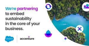 Salesforce ควง Accenture ส่งเสริมธุรกิจเติบโตยั่งยืน