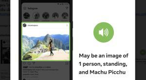 Facebook ช่วยผู้พิการทางสายตา เสริม AI ในฟีเจอร์บรรยายรูปภาพ