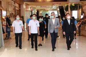 กรมอนามัย ลงพื้นที่ตรวจเยี่ยมมาตรการเข้มข้นสูงสุดที่เซ็นทรัลเวิลด์ เน้นย้ำทุกคนใช้ชีวิตปลอดภัย รักษาวินัย คนไทยช่วยกัน