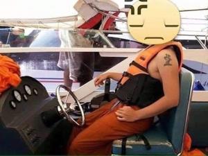 วอนอย่าแชร์ภาพพระนั่งสปีดโบ๊ต เป็นภาพเก่าเมื่อ 7 ปีที่แล้ว เจ้าของเรือขู่ฟ้องฐานบิดเบือน