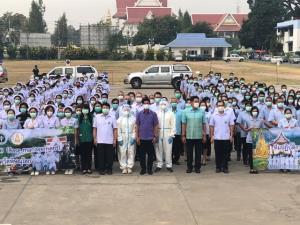 ชื่นชมกันทั่ว! นักรบชุดขาวหลายจังหวัดภาคเหนืออาสาร่วมช่วยชาวสมุทรสาครสู้ภัยโควิด-19
