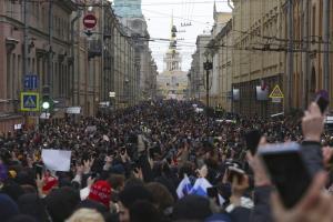 ตำรวจรัสเซียลุยจับผู้ชุมนุมกว่า 4 พันคน มุ่งสยบกระแสประท้วงทั่วปท.ที่กดดันให้ปล่อยผู้นำฝ่ายค้าน