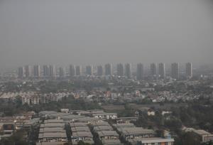 ขมุกขมัว! ฝุ่นพิษกระจายทั่วกรุง เกินค่ามาตรฐาน 68 พื้นที่ เริ่มมีผลกระทบต่อสุขภาพ แนะเฝ้าระวังสุขภาพ