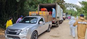 ประจวบฯ สั่งชะลอนำเข้าและส่งออกสินค้าด่านสิงขรไปอีก 3 วัน รอดูสถานการณ์ภายในพม่า