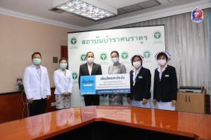 """""""มาดามแป้ง"""" เมืองไทยประกันภัย มอบกรมธรรม์ COVID-19 บุคลากรทางการแพทย์สถาบันบำราศนราดูร"""