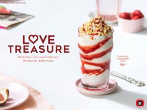 """เติมหวานรับวาเลนไทน์...ทรูคอฟฟี่พร้อมเสิร์ฟความรัก ส่งต่อความห่วงใยด้วยเครื่องดื่มสุดพิเศษ """"Strawberry Cheesecake Twist"""" ดื่มด่ำไอรัก สัมผัสความหอมละมุนได้แล้ววันนี้ ถึง 31 มีนาคม 2564"""