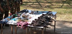 อุทยานฯ เผยจับทหารลอบล่านกเงือก พร้อมซากนก 7 ซาก อาวุธปืน-ยาเสพติด