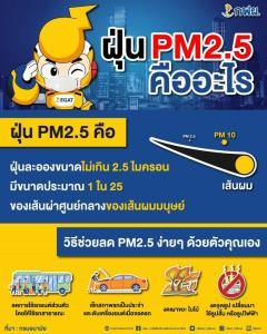 กฟผ. ชวนคนไทยลดPM2.5 พร้อมใจงดเผาในที่โล่ง สร้างอากาศบริสุทธิ์