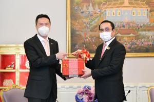 นายกฯ พบอุปทูตรักษาราชการ สถานเอกอัครราชทูตจีน อวยพรปีใหม่ให้ชาวจีน