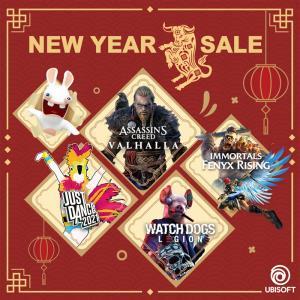 Ubisoft จัดเทศกาลลดราคารับตรุษจีน ถึงวันที่ 17 ก.พ.นี้