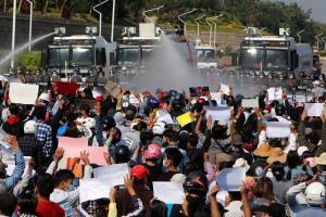 อย่างไว! สหรัฐฯ รุดประณาม โวยพม่าใช้ความรุนแรงต่อผู้ชุมนุมต่อต้านรัฐประหาร