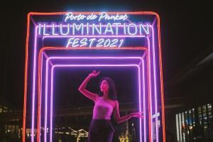 ครั้งแรกในภูเก็ต งานแสดงไฟ Porto de Phuket Illumination Fest 2021 ประติมากรรมแสงไฟ จุดประกายสว่างสดใสยามค่ำคืน ต้อนรับเทศกาลตรุษจีน