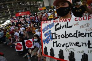 กองกำลังชาติพันธุ์ 10 กลุ่มในพม่า แถลงยืนข้างประชาชนต้านรัฐประหาร-ประณามปราบม็อบ