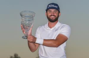เฮย์เดน บัคเลย์ โปรชาวอเมริกัน เฉือนเพลย์ออฟคว้าแชมป์ (ภาพ: Ben Jared/PGA TOUR)