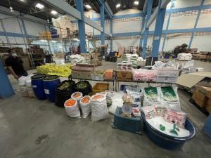 ทลายโรงงานผลิตผงชูรส น้ำยาล้างจาน และสบู่ สวมยี่ห้อดัง ส่งขายจังหวัดชายแดนใต้