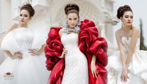 """สวย เฟียส! """"หญิง รฐา"""" สร้างเซอร์ไพรส์ในลุคชุดแต่งงานสุดหรู"""