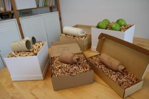 """ผักตบชวาก็มีประโยชน์ """"Chva"""" ผลิตภัณฑ์กันกระแทกที่ช่วยรักษ์โลก"""