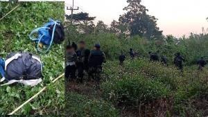 ยิงสนั่นป่าชายแดนแม่จัน! ทหารปะทะเดือดแก๊งค้ายาจับ 3 ยึดยาบ้า 16 เป้ กว่า 1,600,000 เม็ด